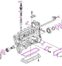 bosch diesel pump repair kit seals mercedes 300d e300 e300td 3 0d 3 0td om603 [ 1071 x 783 Pixel ]