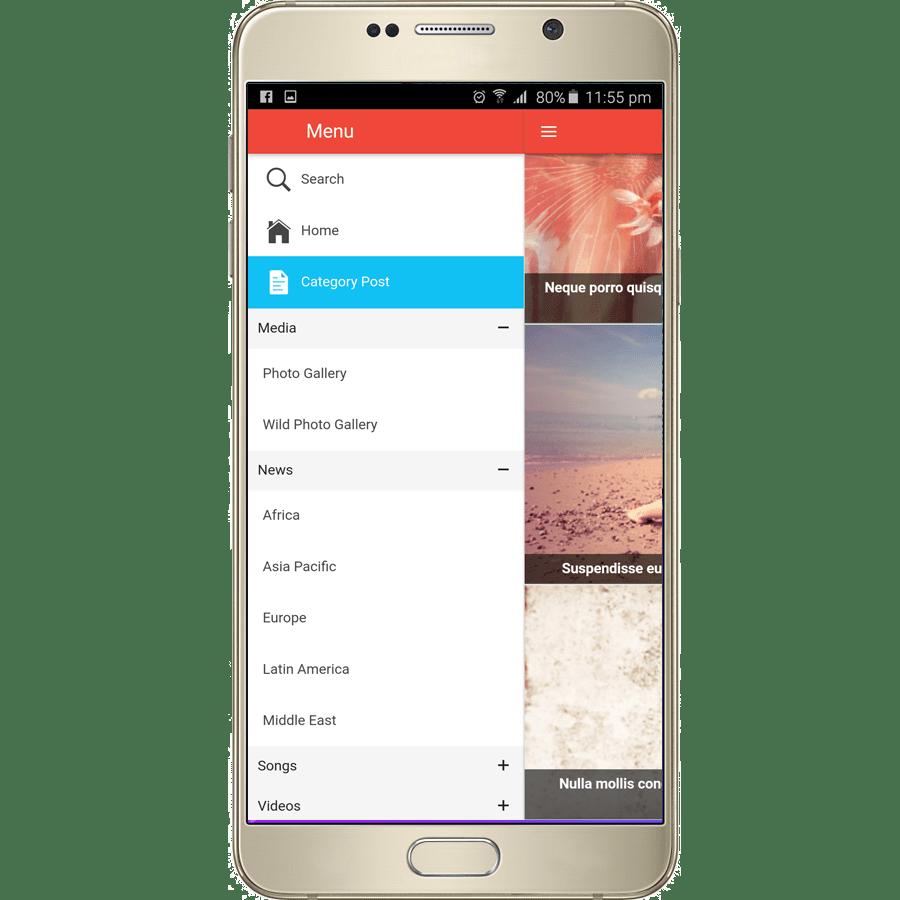 Ionic-wordpress-post-app - Ionic Marketplace