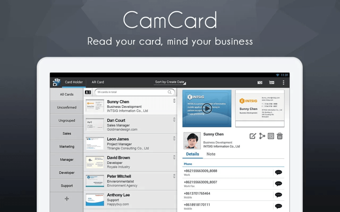 CamCard-Card-Reader