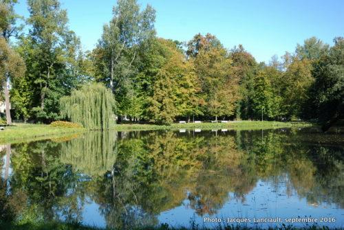 Jardins du palais de Wilanów, Varsovie, Pologne