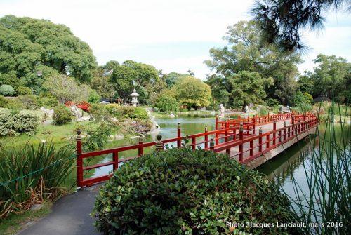Jardín Japonés, quartier Palermo, Buenos Aires, Argentine