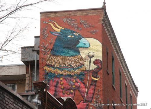 La déesse, Montréal, Québec