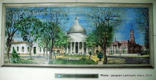 Station de subte Juramento, quartier Belgrano, Buenos Aires, Argentine