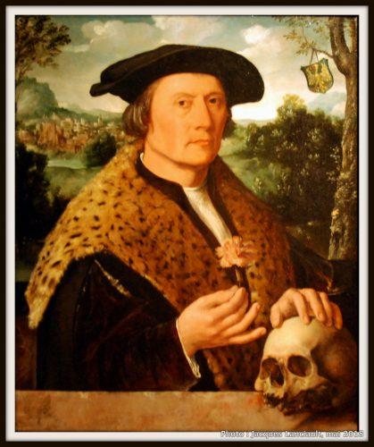 Pompeius Occo, banquier, marchand et humaniste, Rijksmuseum, Amsterdam, Pays-Bas