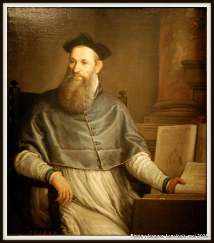 Portrait de Van Daniele Barbaro, Rijksmuseum, Amsterdam, Pays-Bas