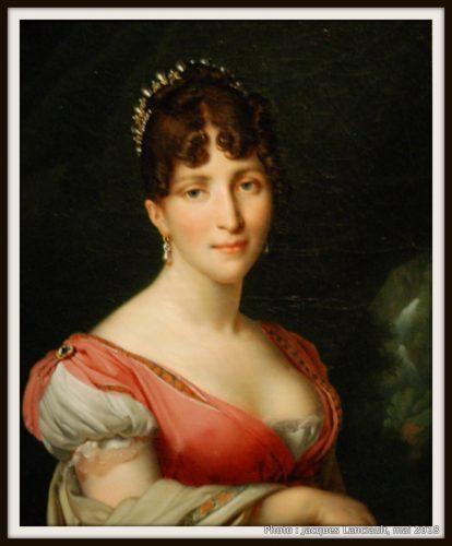 Portrait de Hortense de Beauharnais, Rijksmuseum, Amsterdam, Pays-Bas