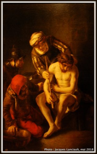 On se moque de Jésus, Hermitage Amsterdam, Amsterdam, Pays-Bas