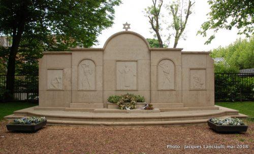 Monument de la gratitude des Juifs, Amsterdam, Pays-Bas