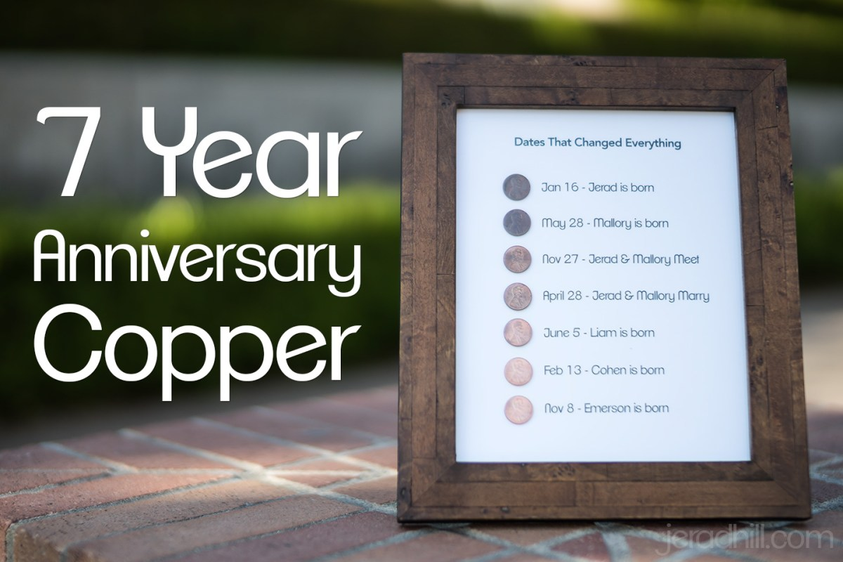 7 Year Anniversary Gift - Copper
