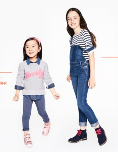 Girls sizing chest measure under your arms around the fullest part of also size chart joefresh rh