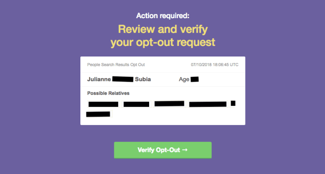 remove yourself from peopleyellowbook opt out removal remove yourself from beenverified opt out removal