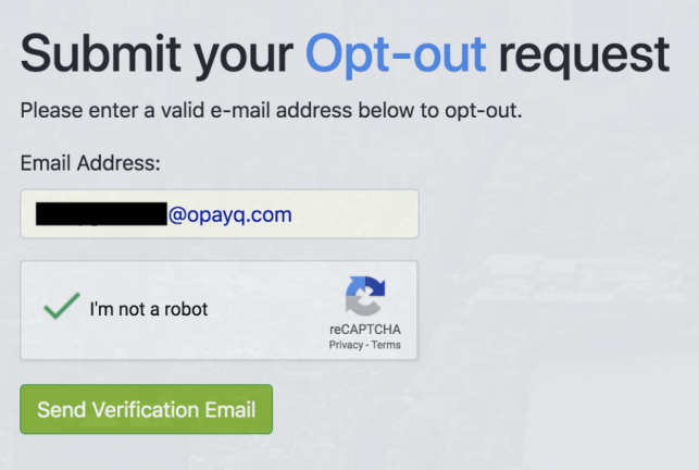 remove yourself from checkthem opt out removal