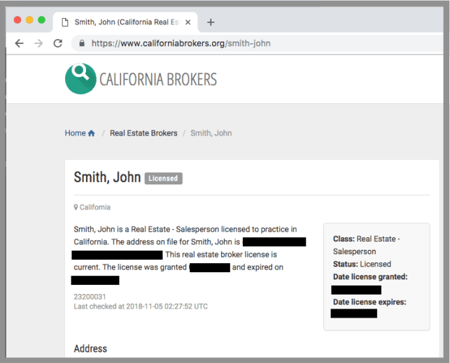 remove yourself from california brokers opt out removal