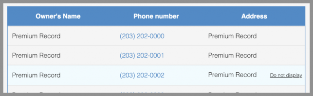 How to Remove Yourself from Confidential Phone Lookup opt out removal