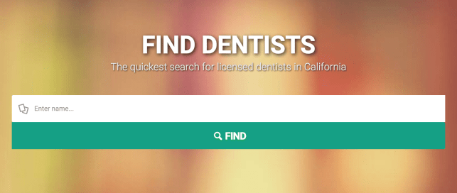remove yourself from dentists california opt out removal