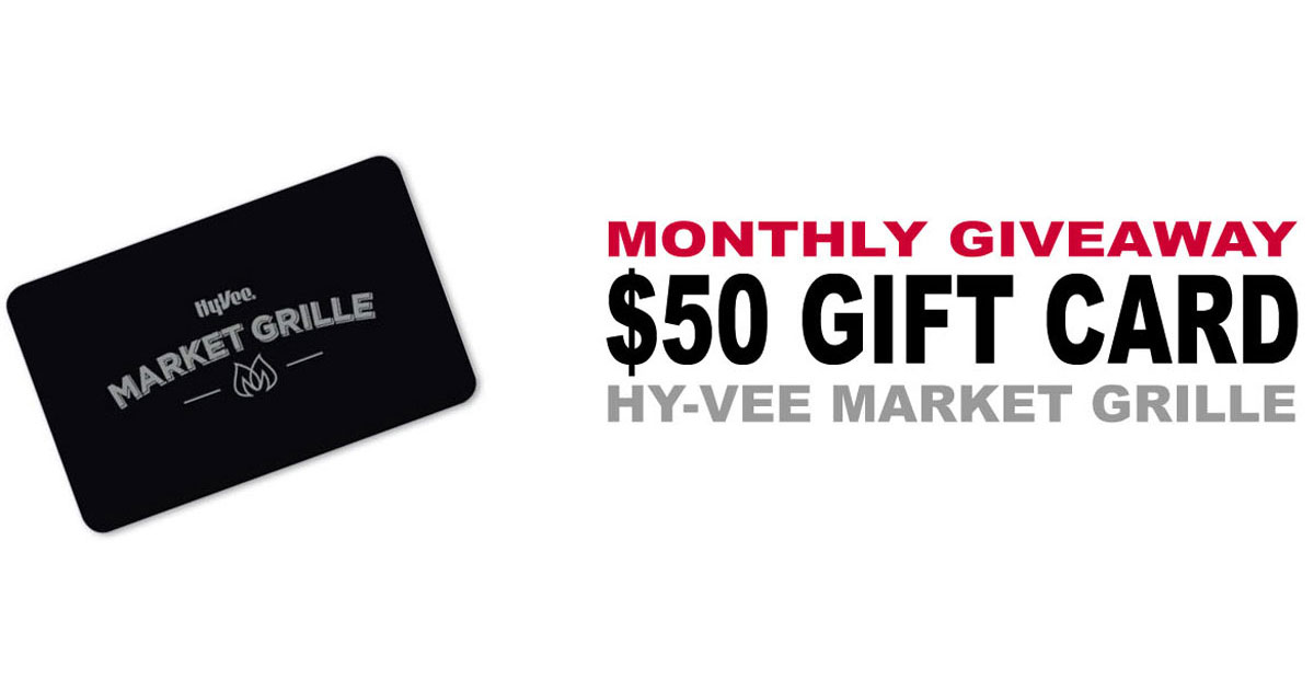Hy vee gift card sweepstakes
