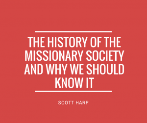 The History Of The Missionary Society-2