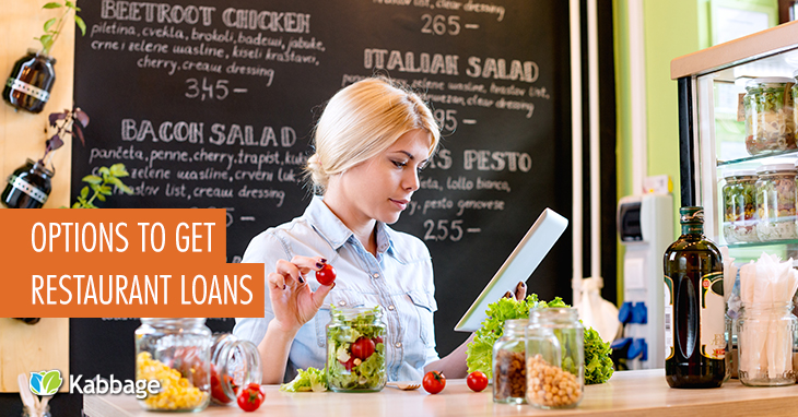 how to get a loan to start a restaurant