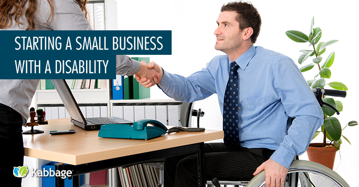 Starting a small business with a disability