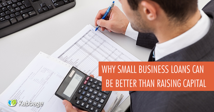 Why Small Business Loans Can Be Better Than Raising Venture Capital