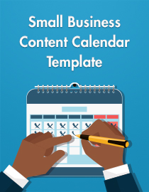 Small Business Content Calendar Template