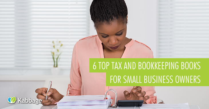 6 Top Tax and Bookkeeping Books for Small Business Owners