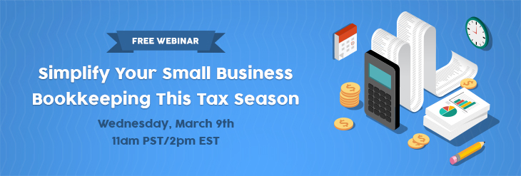 Simplify your small business bookkeeping this tax season