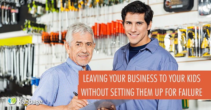 Transferring Business Ownership to Your Kids