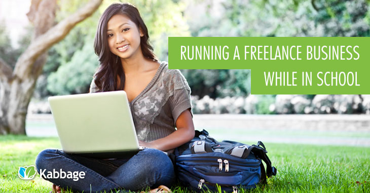 College Running a Freelance Business While in School