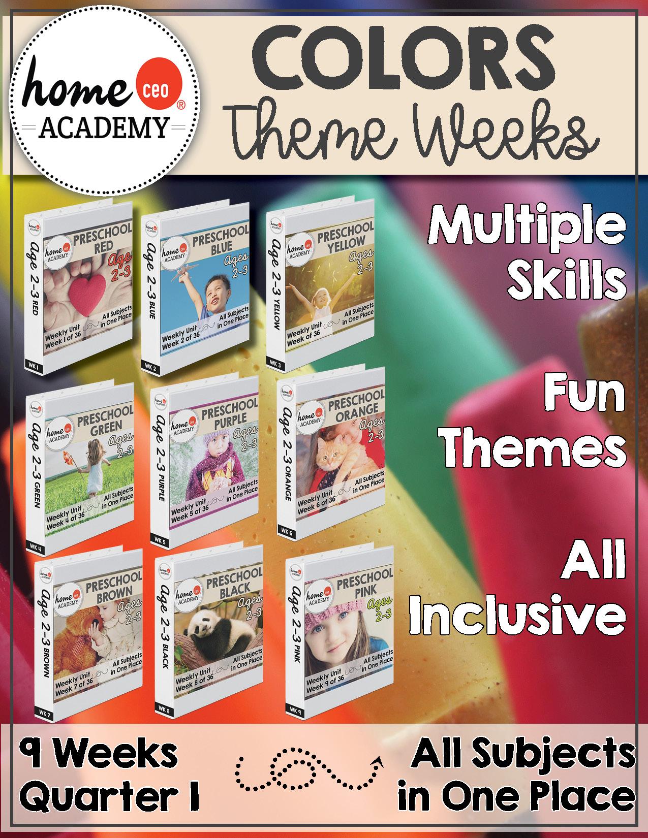 Preschool Curriculum Programs For Preschool Homeschool Day Care