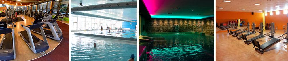 Centro sportivo con 2 piscine palestra e sale corsi a Induno Olona