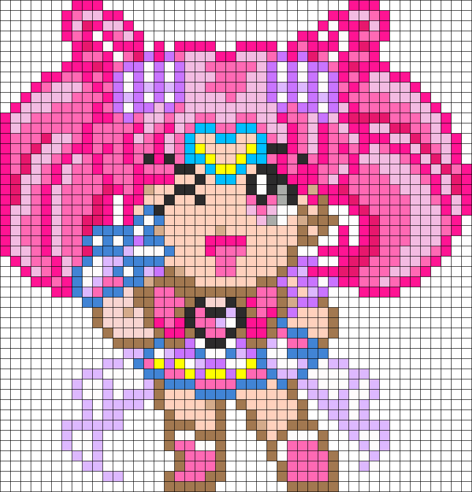 hight resolution of kawaii perler bead pattern bead sprite