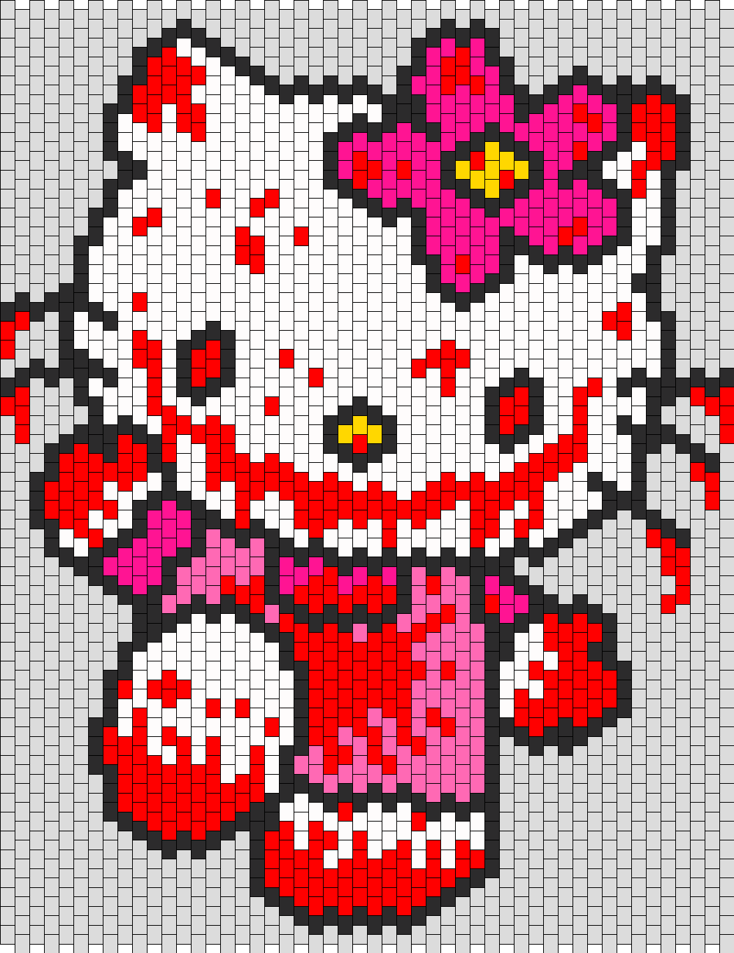 Hell Kitty Bead Pattern