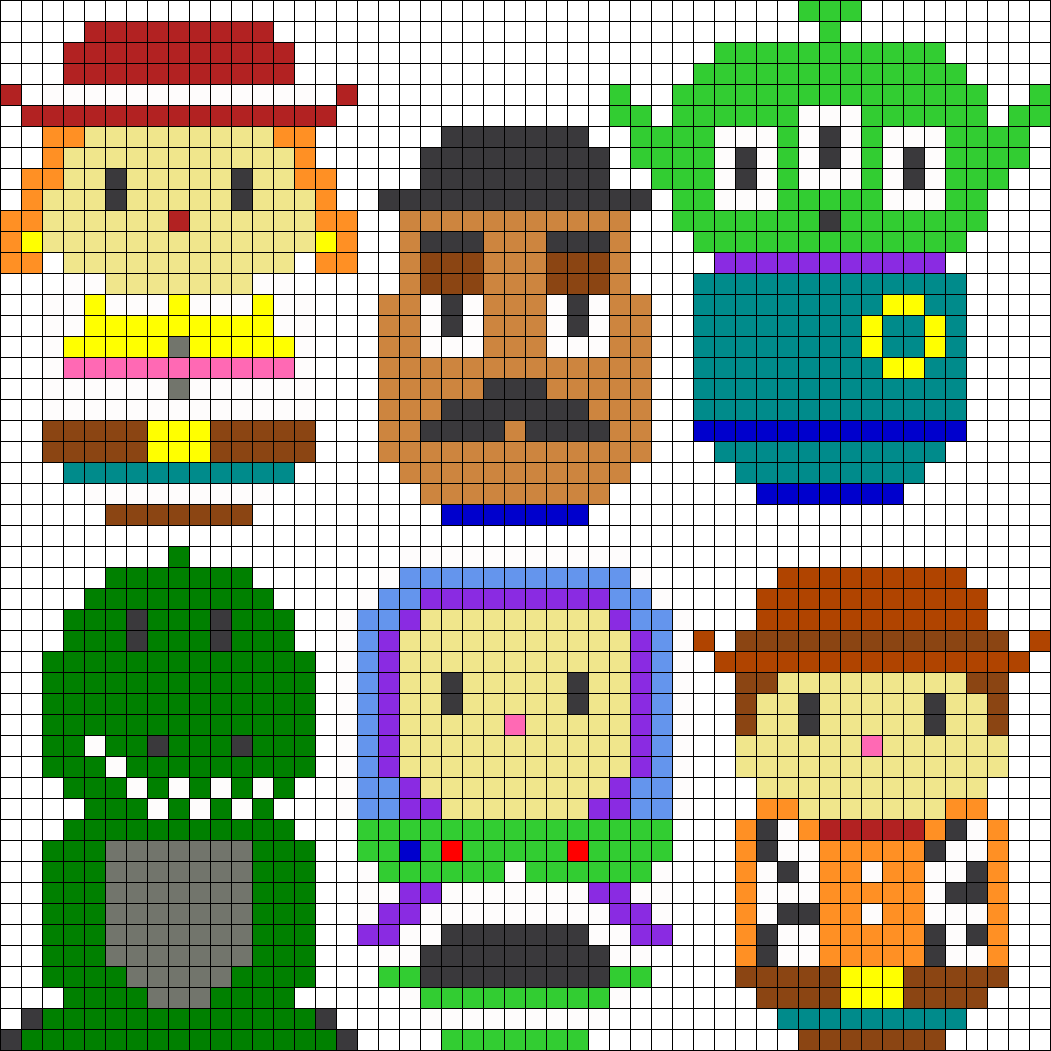 hight resolution of toy story perler bead pattern bead sprite