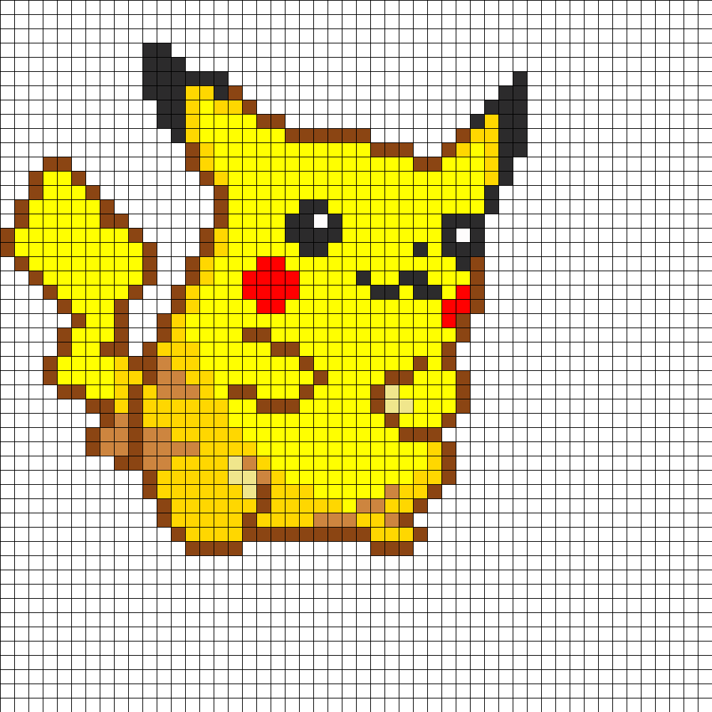 medium resolution of pikachu perler bead pattern perler bead pattern bead sprite