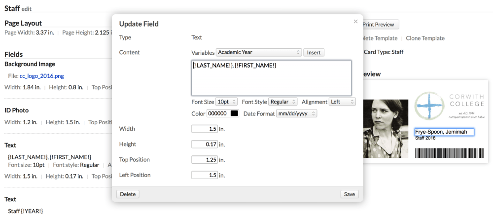 medium resolution of id card fields