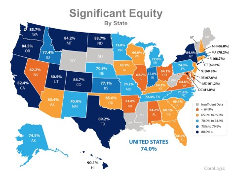 74% of Households in the US Now Have Significant Equity! | MyKCM