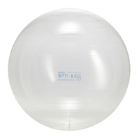 OPTI BALL 75. CLEAR   fitness   gymnic