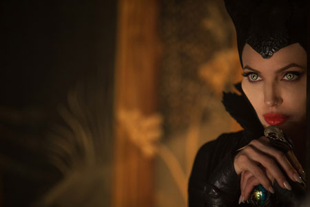 Angelina Jolie owes her Maleficent look to artist Marc Davis