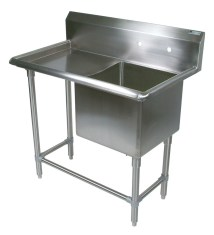 Utility Sink with Drainboard