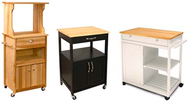 kitchen microwave cart aid gas stove butcher block carts john boos catskill