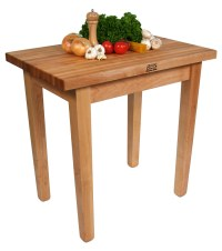 John Boos Country Work Table | Butcher Block Table
