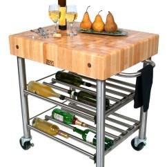 Catskill Craftsmen Kitchen Island Counter Overhang John Boos Cucina D'amico Butcher Block Wine Cart