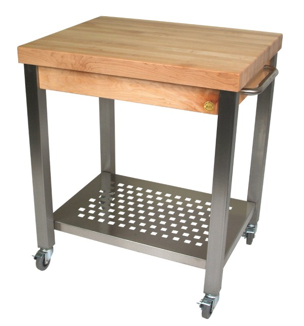 Butcher Block Kitchen Cart