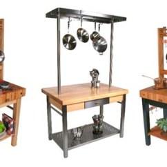 Kitchen Work Station Sink Cabinet Prep Center Boos Stations