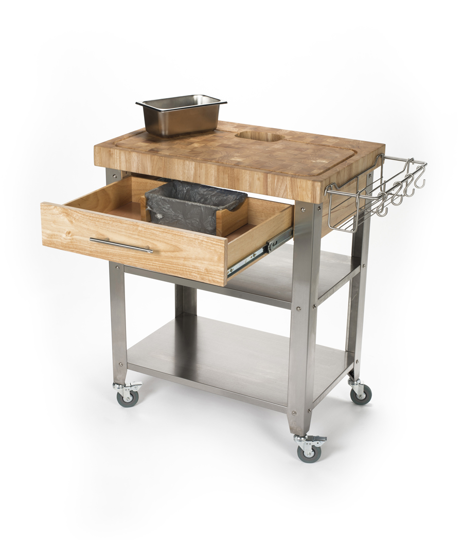 john boos kitchen islands coffee color cabinets chris work station   butcher block cart