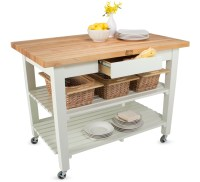 John Boos Classic Country Work Table   Island Table