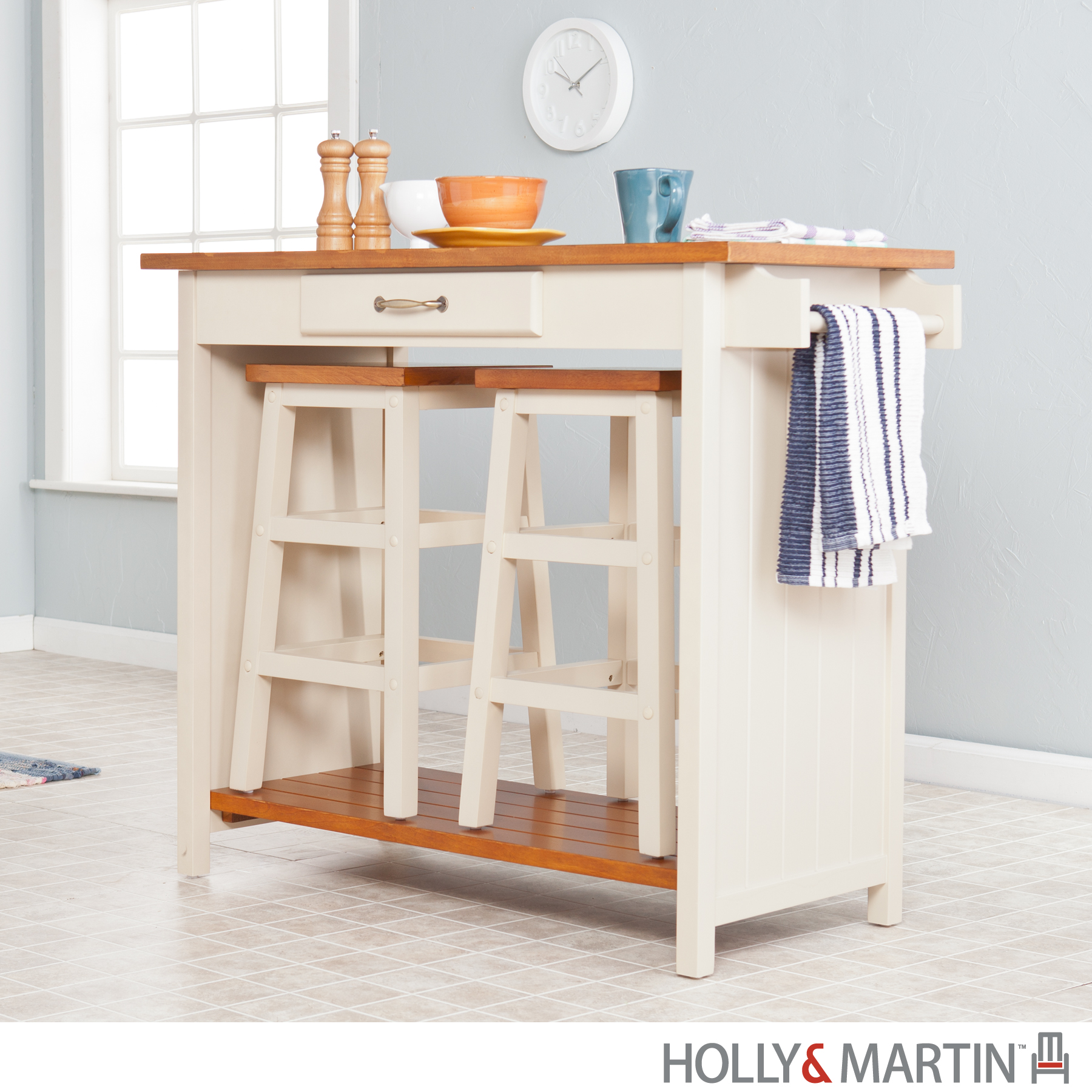 3 piece kitchen set backsplash ideas on a budget breakfast bar with stools white