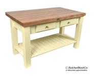 Butcher Block Kitchen Table | Modern Home & House Design Ideas