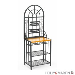Bakers Racks For Kitchen Small Ideas Pictures Summit Baker 39s Rack Wine Holly And Martin